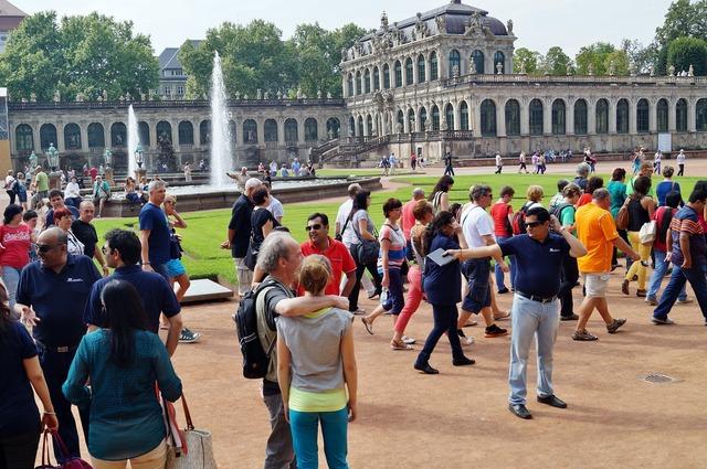 Dresden zwinger park.