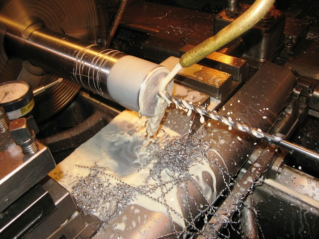 Drilling engineering lathe, industry craft.