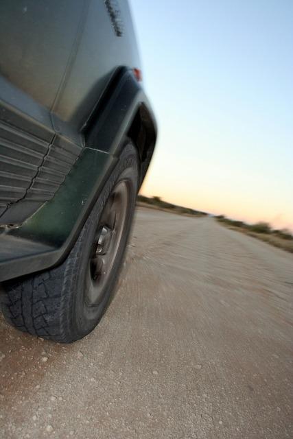 Drive automobile dirt road, transportation traffic.