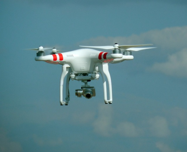 Drone espionage camera.