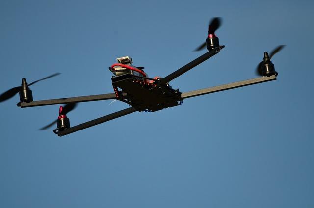 Drone flying object warthox.
