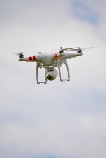 Drone sky remote control.