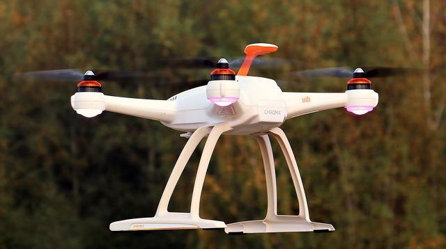 Drone uav sky, science technology.