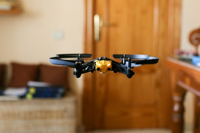 Drones small quadcopter, science technology.