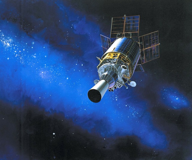 Dsp satellite space, science technology.