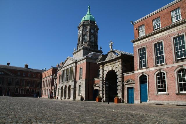 Dublin castle castle building, architecture buildings.