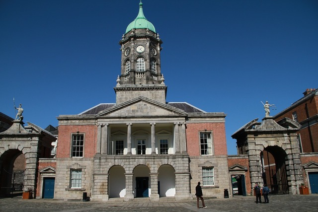 Dublin castle castle landmark, places monuments.