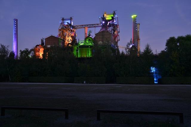 Duisburg industry factory, industry craft.