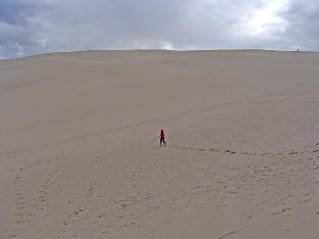 Dune soledad desert.