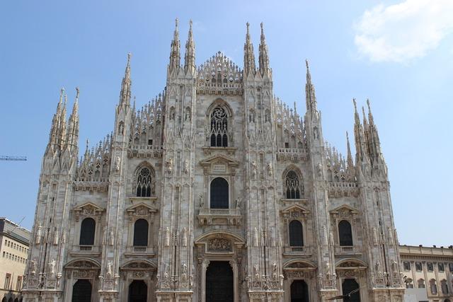 Duomo milan italy.