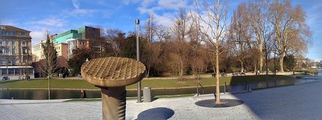 Düsseldorf kö bow park.