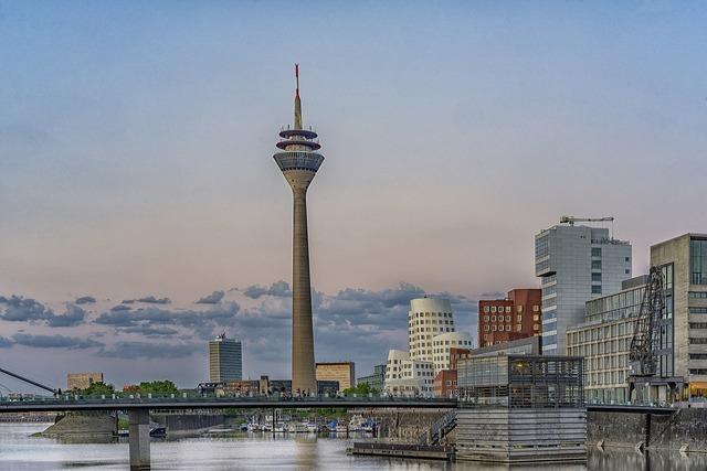 Düsseldorf media harbour architecture, architecture buildings.