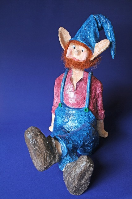 Dwarf troll figure.