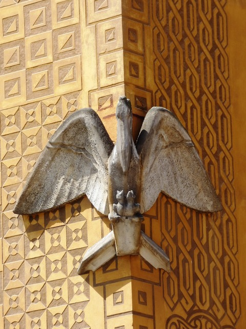 Eagle eagles kamienica, architecture buildings.