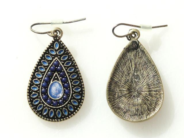 Earrings jewellery stone.