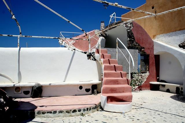 Earthquake building destruction, architecture buildings.