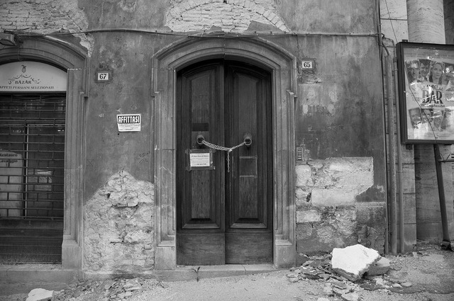 Earthquake italy grunge, architecture buildings.
