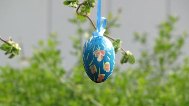 Easter egg painted egg.