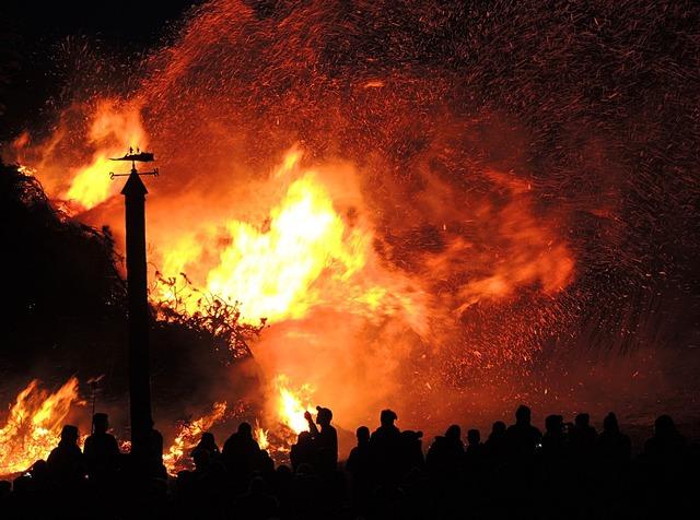 Easter fire brand heat.
