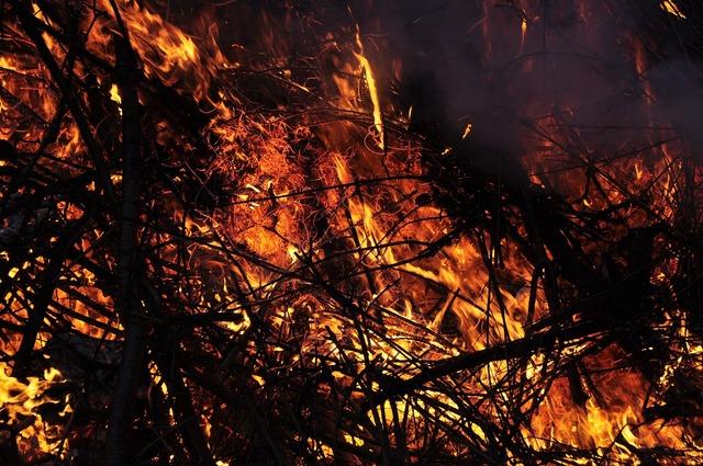 Easter fire flame embers.