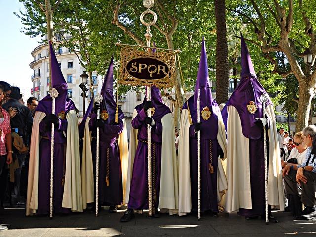 Easter seville festival, religion.