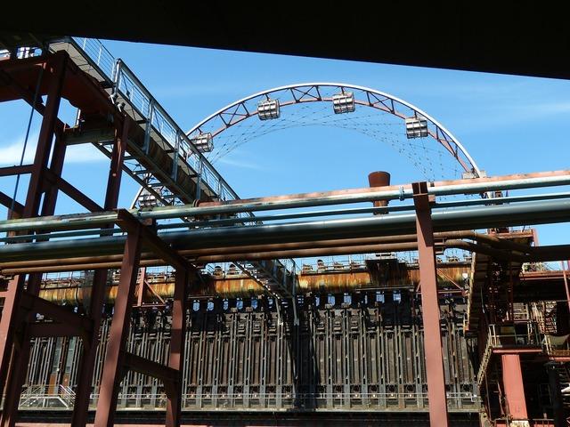 Eat bill zollverein, architecture buildings.