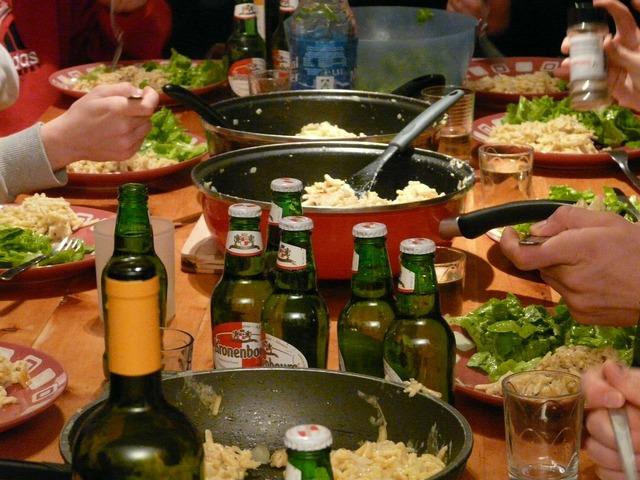Eat food celebration, food drink.