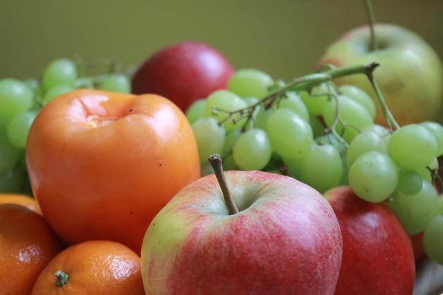 Eat fruit healthy, food drink.