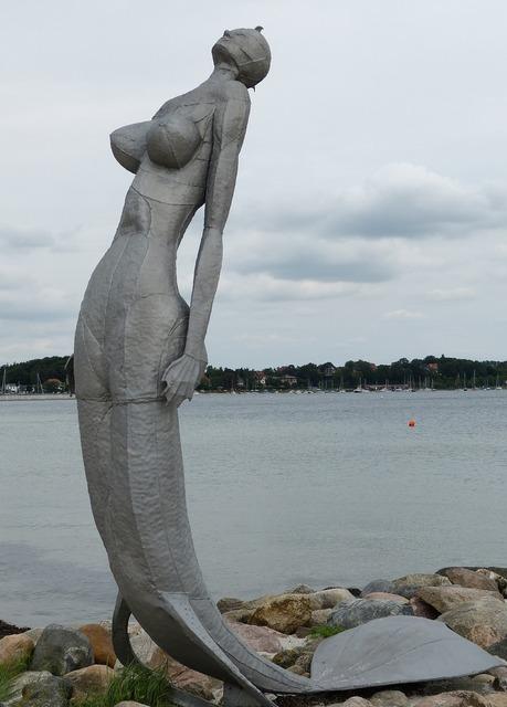 Eckernförde mecklenburg sea, travel vacation.