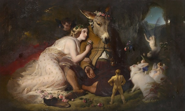 Edwin landseer william shakespeare dream scene of a summer night.