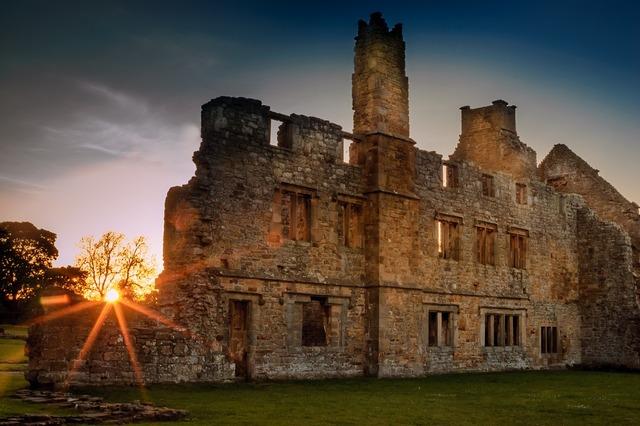 Egglestone abbey abbey ruin, religion.
