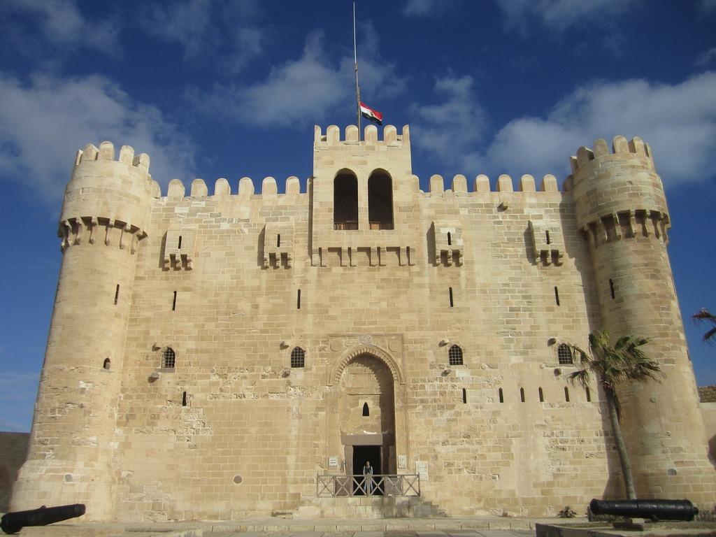 Egypt alexandria bey citadel.