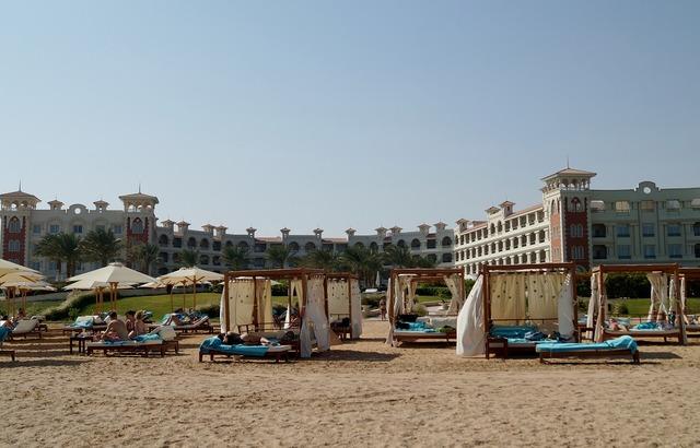 Egypt hurghada sand, travel vacation.