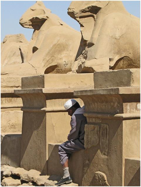 Egypt karnak luxor, religion.