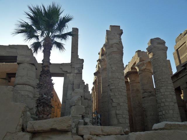 Egypt karnak temple ancient history.