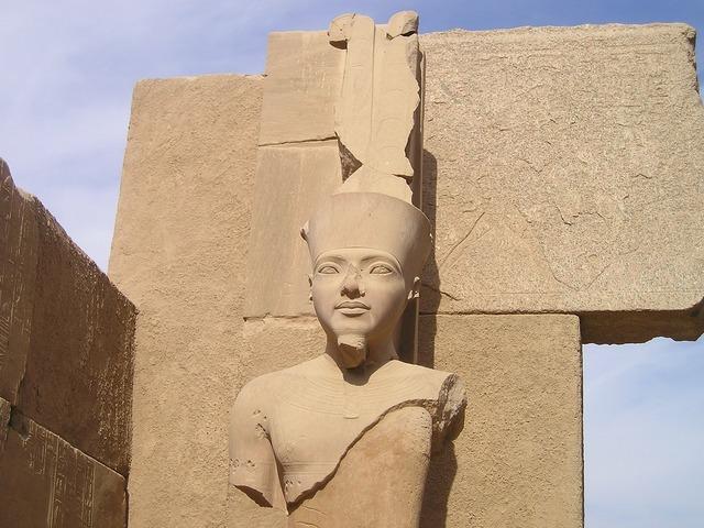 Egypt luxor karnak.