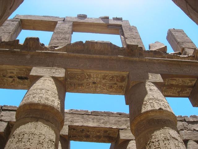 Egypt luxor karnak temple, religion.