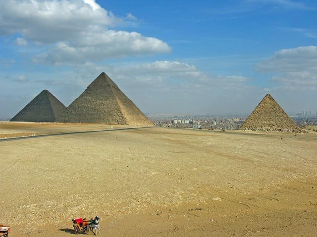 Egypt pyramids cairo.
