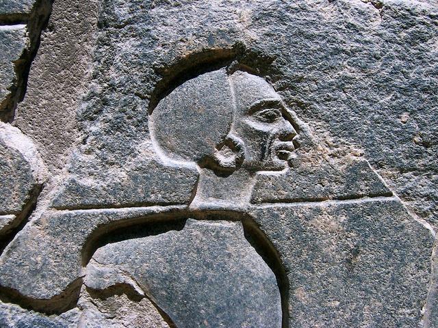 Egypt relief stone relief, religion.