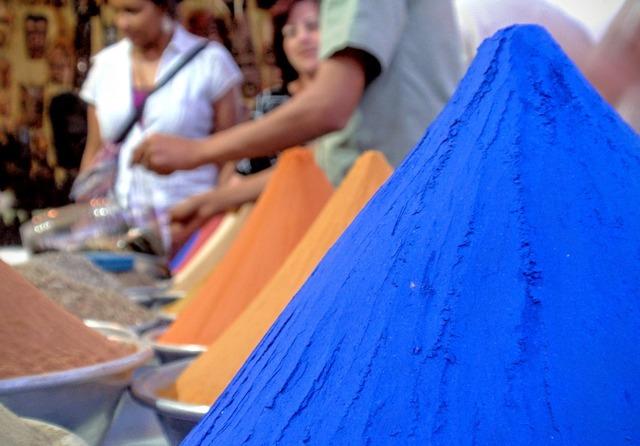 Egyptian spices blue egypt.