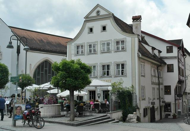Eichstätt bavaria city, architecture buildings.