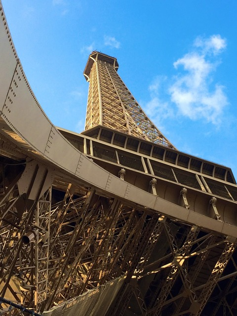 Eiffel paris france, places monuments.