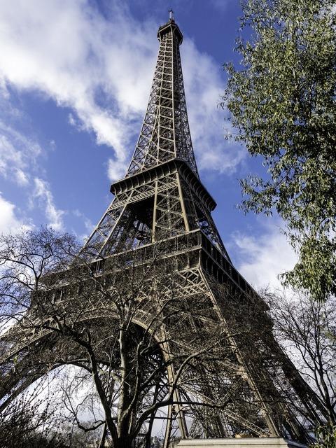 Eiffel tower architecture symbol, architecture buildings.