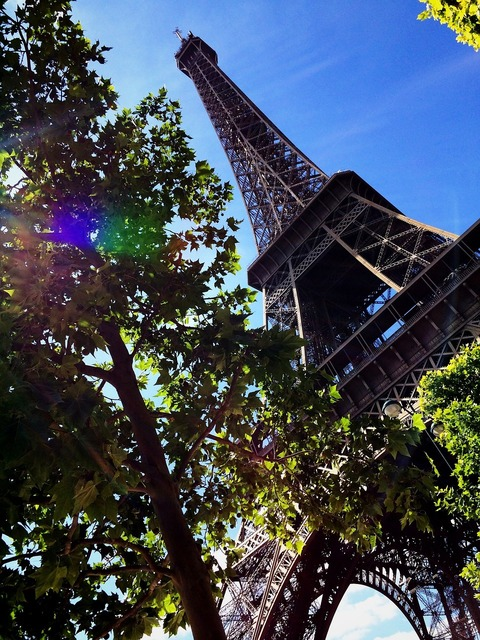 Eiffel tower paris france, places monuments.