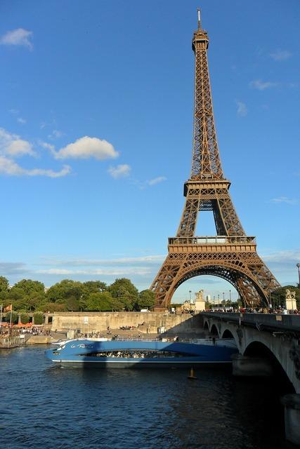 Eiffel tower paris france, travel vacation.