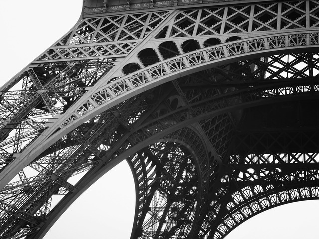 Eiffel tower paris landmark, places monuments.