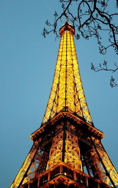 Eiffel tower paris, travel vacation.