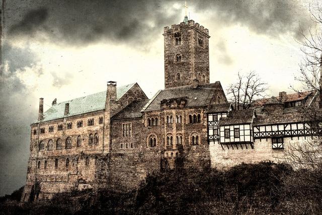Eisenach wartburg castle thuringia germany.