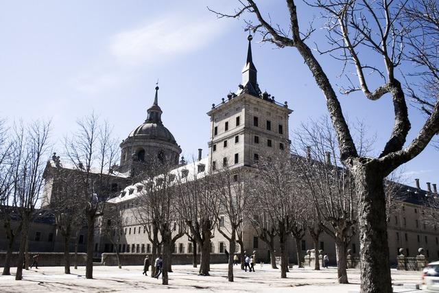 El escorial madrid blue, places monuments.
