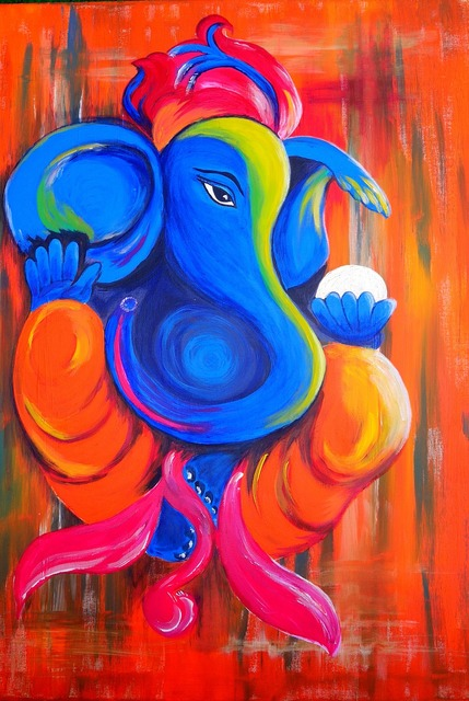 Elephant ganesha god.